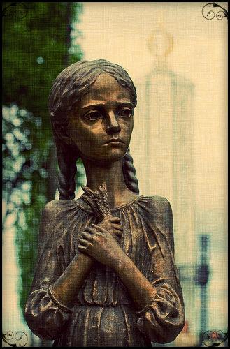 Memorial Holodomor em Kiev (Capital da Ukrânia)