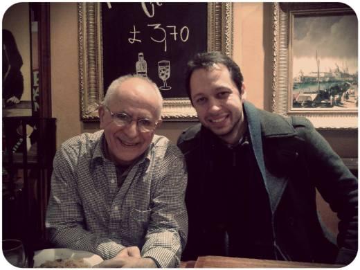 Encontro com o Professor João em Londres, Dezembro de 2013.